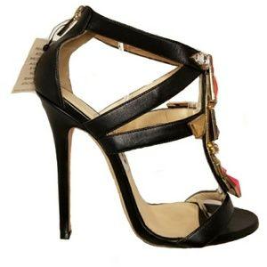 Jimmy Choo Embellished Sandal Pumps